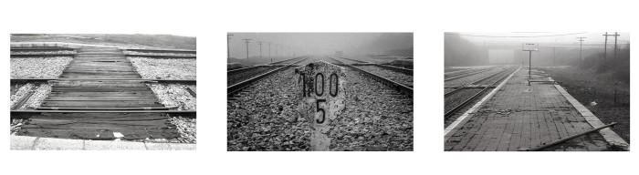Tríptico Ferrocarril